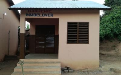 Construcción de guardería en el colegio de Doga Plage, Kpomassé.