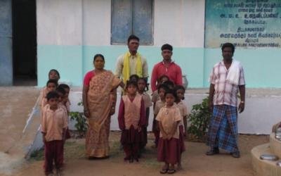 Reforma de un orfanato en las montañas de Kalvarayan, Tiruvannamali.