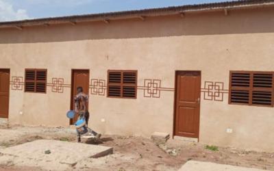 Construcción de casa de voluntariado en Doga Plage, Kpomassé